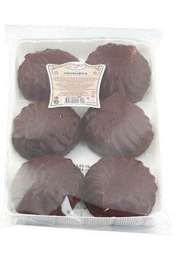 Зефир Обожайка в шоколаде
