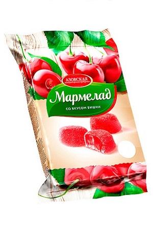 Мармелад со вкусом вишни, 300г. Россия с доставкой по Словении