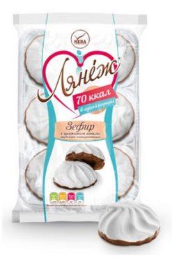 Зефир Лянеж с шоколадной глазурью