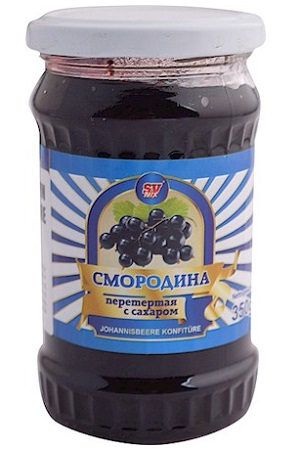 Črni ribez s sladkorjem, 256g. Rusija z dostavo v Sloveniji