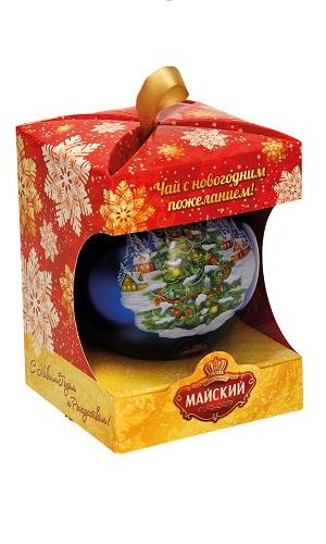 Čaj črni Novoletno darilo TM Majskij, 20g z dostavo v Sloveniji