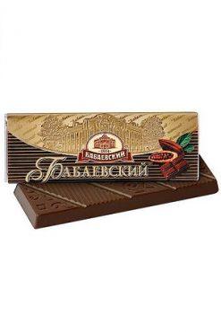 Шоколадный батончик Бабаевский горький