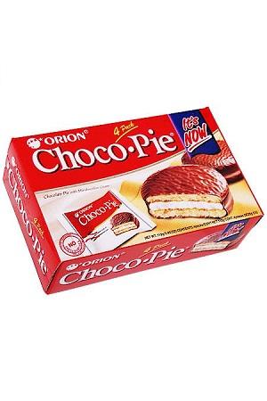 Piškoti Choco Pie z zračnim polnilom v čokoglazuri, 168g z dostavo v Sloveniji