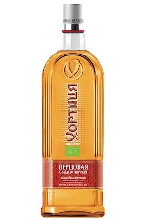 Medena vodka Hortica s feferoni, 0,7l