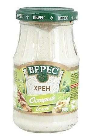 Hren pekoči beli, 180g. TM Veres Ukrajina z dostavo v Sloveniji