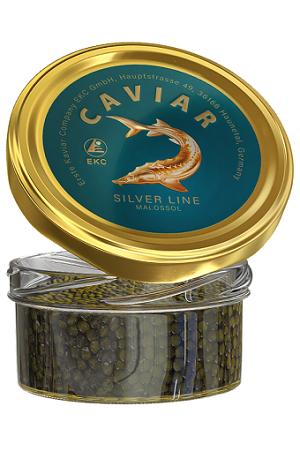 Črni kaviar jesetra, 100g., Silver Line z dostavo v Sloveniji
