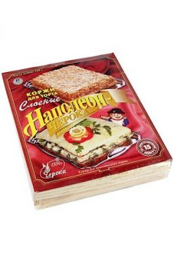 Коржи для торта Наполеон Черока