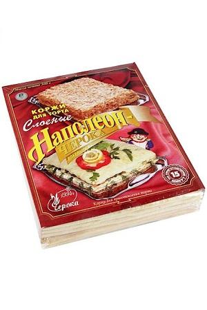Коржи для торта Наполеон Черока, 360г. Россия с доставкой по Словении