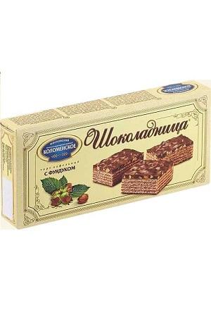 Вафельный торт Шоколадница с фундуком, 270г., Россия с доставкой по Словении