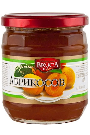 Варенье из абрикосов, 500г., Молдавия с доставкой по Словении