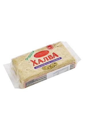 Halva iz sončničnih semen z rozinami, 500g., Rusija z dostavo v Sloveniji