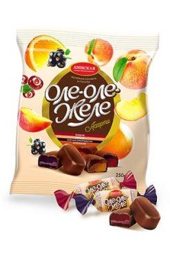 Мармелад в шоколаде Ассорти Оле-Оле-Желе