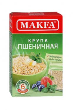 Пшеничная крупа в пакетиках, ТМ Макфа