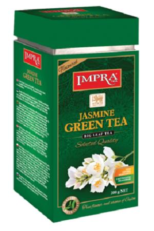 Зелёный чай с лепестками жасмина Импра, о. Цейлон, 200г. с доставкой по Словении