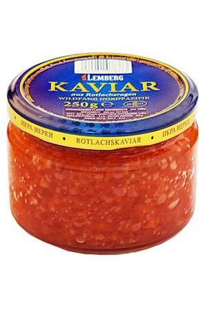 Kaviar nerke (družina lososevih), 250g. TM Lemberg z dostavo v Sloveniji