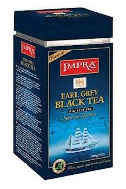 Čaj črni IMPRA, Earl Grey, 200g. Ceylon