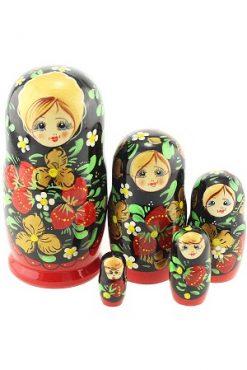 Матрешка средняя 5 кукол