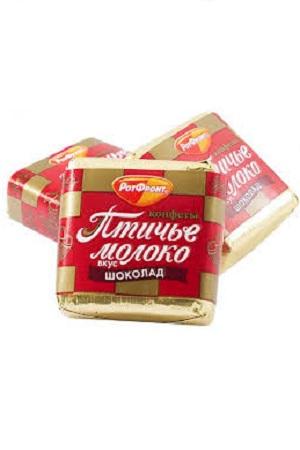 Bonboni Ptičje mleko Čokolada, Rot Front, na vago, Rusija z dostavo v Sloveniji