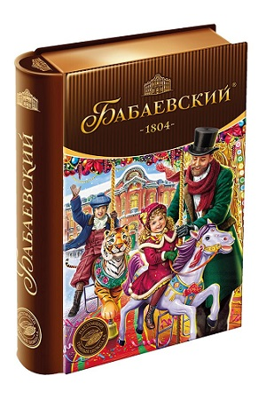 Новогодний подарок Бабаевский, мет.коробка, 256г. Россия с доставкой по Словении