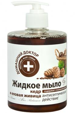 Жидкое мыло Кедровая живица Домашний Доктор