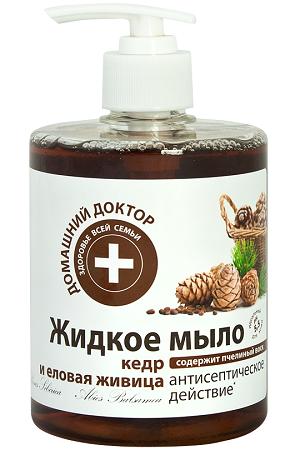 Жидкое мыло Кедровая живица Домашний Доктор, Украина, 480мл с доставкой по Словении