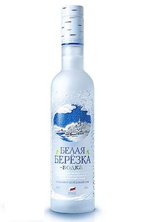 Водка Белая Береза Премиум, 0,5л. Россия с доставкой по Словении