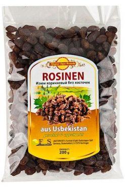 Изюм коричневый, 200г. Узбекстан