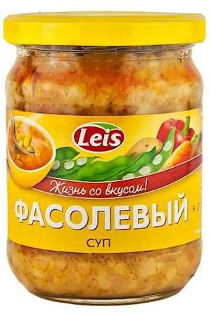 Fižolova juha, 480g., Litva z dostavo v Sloveniji