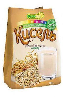 Кисель Фитодар овсяный на молоке на фруктозе