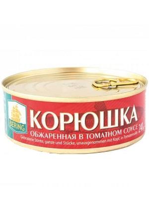Корюшка, обжаренная в томатном соусе, 240г Эстония с доставкой по Словении