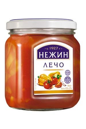 Лечо со сладким перцем, Нежин, 450г. Украина с доставкой по Словении