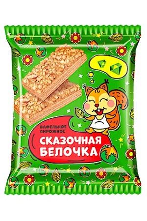 Вафельное пирожное Сказочная белочка, 75г Россия с доставкой по Словении