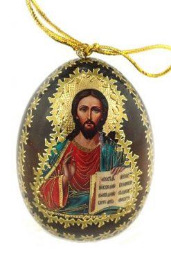 Яйцо Религия деревянное коричневое