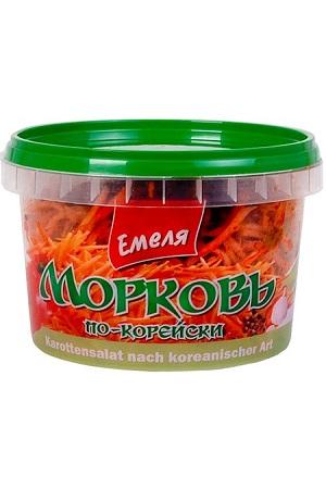 Морковь по-корейски острая, 350г. Емеля с доставкой по Словении