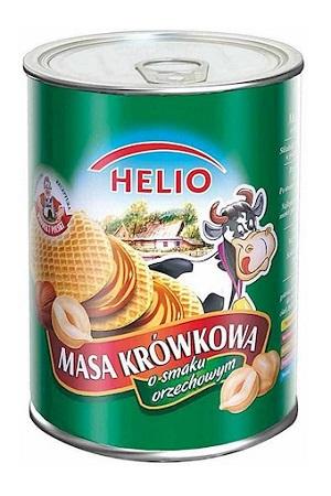 Сгущенное молоко с ореховым вкусом, 400г. Польша с доставкой по Словении