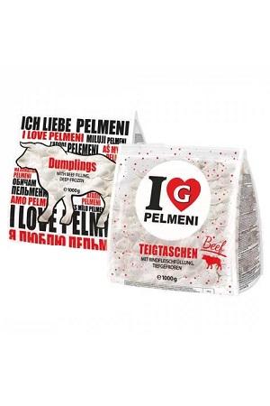 Pelmeni z govejim mesom, 1kg. Nemčija, zamrznjeni izdelki z dostavo v Sloveniji