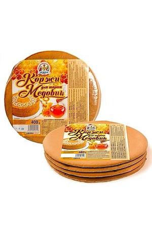 Коржи для медового торта, 400г. Республика Молдова с доставкой по Словении