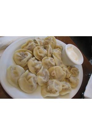 Pelmeni Sibirski Ruska kuharica, 1kg., zamrznjeni izdelki z dostavo v Sloveniji
