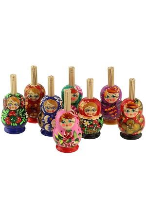 Подставка для зубочисток Матрёшка, Россия с доставкой по Словении