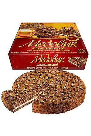 Медовый торт с грецкими орехами, 850г. Чехия с доставкой по Словении