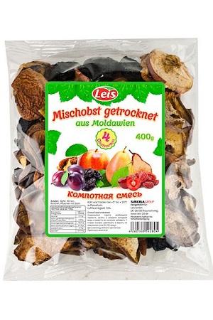 Mešano suho sadje, 4 vrste 400g. Moldavija z dostavo v Sloveniji