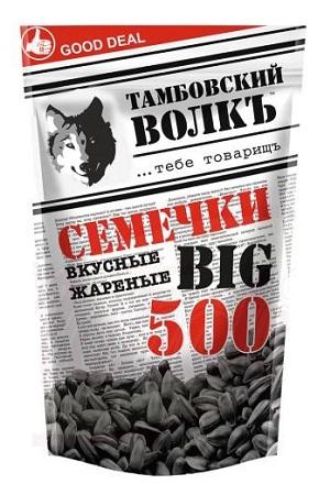 Жареные семечки Тамбовский волк 400г. Россия с доставкой по Словении