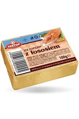 Topljeni sir z lososem, 100g, Poljska z dostavo v Sloveniji