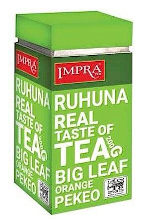 Čaj črni v listih IMPRA RUHUNA 200g z dostavo v Sloveniji