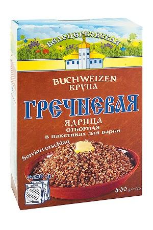 Гречка в варочных пакетиках, Белоцерковская 5х80г. Украина с доставкой по Словении