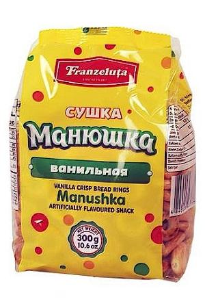 Сушка Манюшка Ванильная, 300г. Молдова с доставкой по Словении