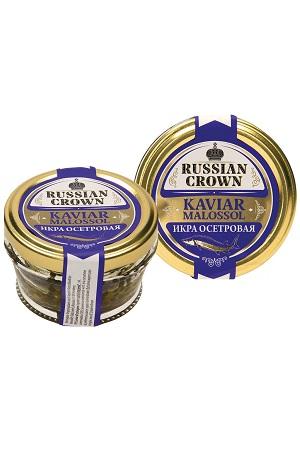 Črni Kaviar jesetra Russian Crown, 50g z dostavo v Sloveniji