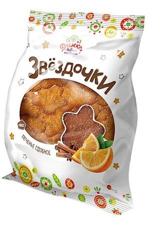 Печенье Звездочка с корицей и имбирем, 300г. Дымка с доставкой по Словении