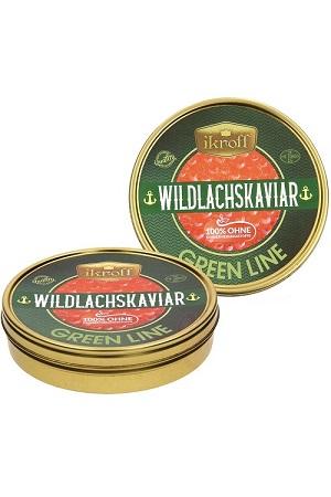 Kaviar kete (družina lososevih), zmrznjen, brez konzervansov, 500g z dostavo v Sloveniji