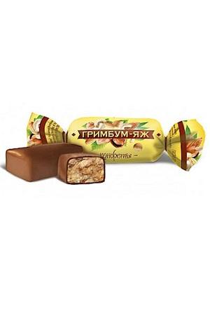 Грильяж в шоколаде Гримбум-яж, товар весовой, Россия с доставкой по Словении